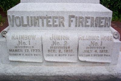 Reading Volunteer Fire Companies image. Click for full size.