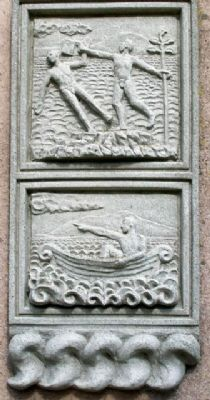 The Ready Boat Pillar Story Panel 2 image. Click for full size.