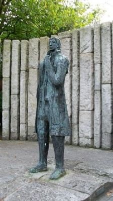 Theobald Wolfe Tone Statue image. Click for full size.