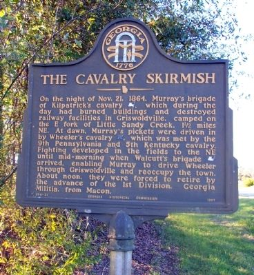 The Cavalry Skirmish Marker image. Click for full size.