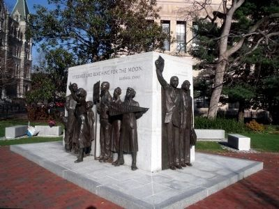 Virginia Civil Rights Memorial image. Click for full size.