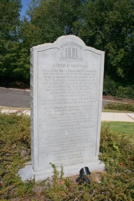 A History Of Vestavia Hills Marker image. Click for full size.