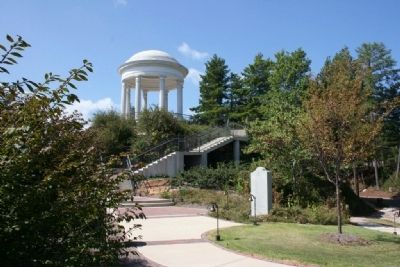 A History Of Vestavia Hills Marker and Temple of Sibyl image. Click for full size.