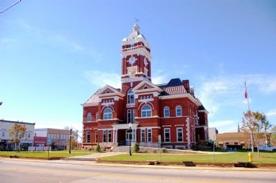The Monroe County Courthouse image. Click for full size.