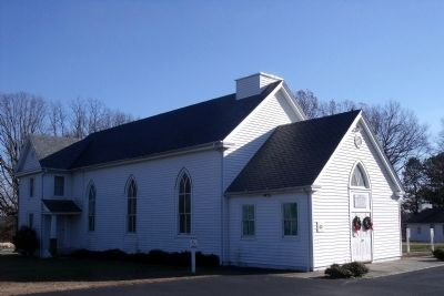 Deep Run Baptist Church image. Click for full size.