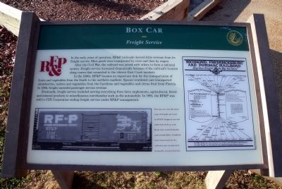Box Car Marker image. Click for full size.