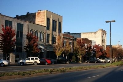 River Hill Site, University Blvd, Downtown Tuscaloosa, Alabama. image. Click for full size.