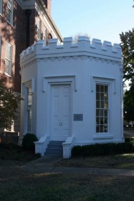 The Guardhouse On The Campus Of The University Of Alabama image. Click for full size.