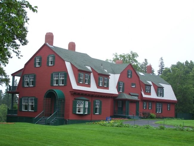 Roosevelt's Summer Cottage - Campobello image. Click for full size.
