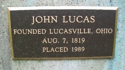 John Lucas Founder Marker image. Click for full size.
