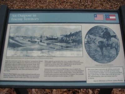 An Outpost in Enemy Territory Marker image. Click for full size.
