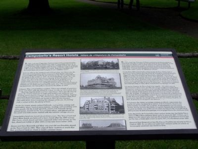 Campobello's Resort Hotels Marker image. Click for full size.