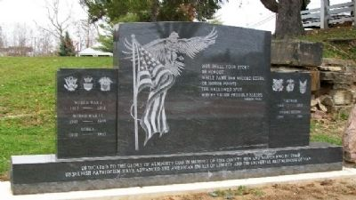 Pike County Twentieth-Century War Memorial image. Click for full size.