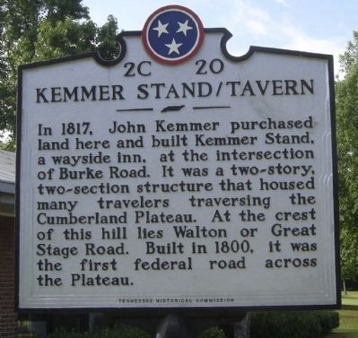 Kammer Stand / Tavern Marker image. Click for full size.