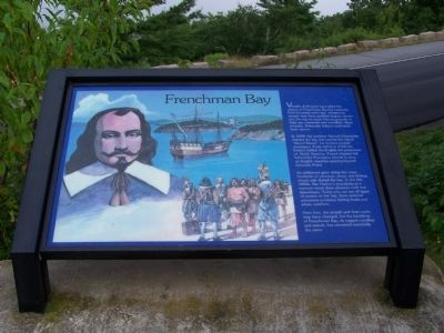 Frenchman Bay Marker image. Click for full size.