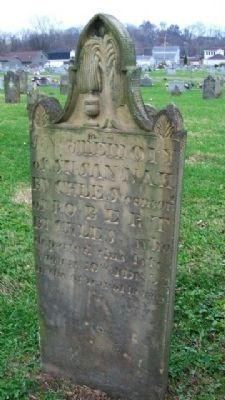 Susannah Buckles Hand Carved Grave Marker image. Click for full size.