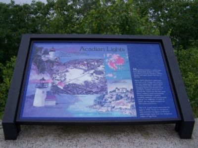 Acadian Lights Marker image. Click for full size.