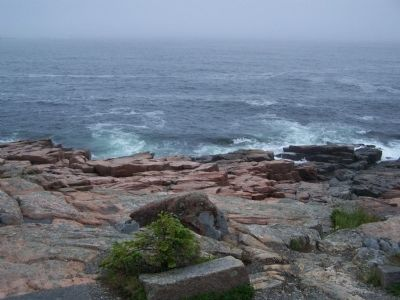 View of rugged coastline. image. Click for full size.