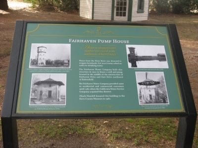 Fairhaven Pump House Marker image. Click for full size.