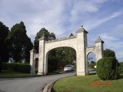 Bethesda Cemetery Entrance image. Click for full size.