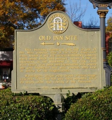 Old Inn Site Marker image. Click for full size.