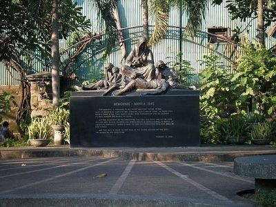 Memorare-Manila 1945 Monument image. Click for full size.