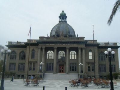 """Old"" San Mateo County Courthouse image. Click for full size."