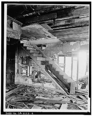 Interior of House Prior to Restoration image. Click for full size.