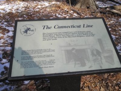 The Connecticut Line Marker image. Click for full size.