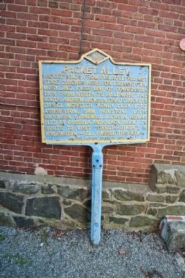 Packet Alley Marker image. Click for full size.