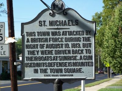 St. Michaels Marker image. Click for full size.