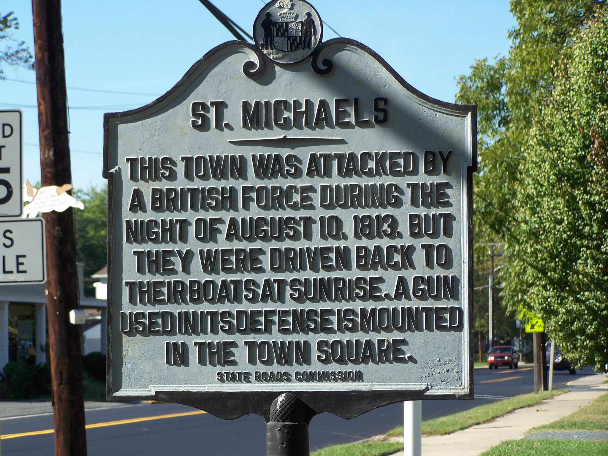 St. Michaels Marker