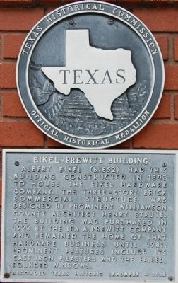 Eikel-Prewitt Building Marker image. Click for full size.