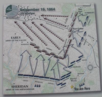 Map of the Closing Stages of the Battle image. Click for full size.