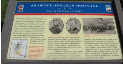 Shawnee Springs Hospital Marker image. Click for full size.