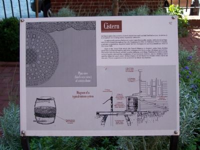 Discription of Cistern image. Click for full size.