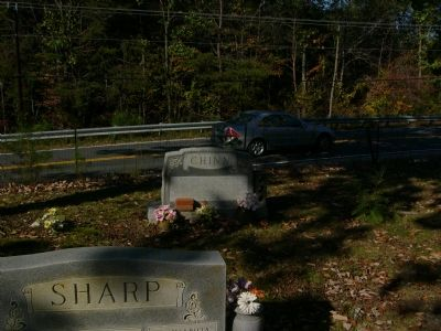 Chinn Family Graves in the Mt. Olive Baptist Church Cemetery image. Click for full size.