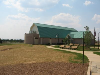 The New Monocacy National Battlefield Visitors Center image. Click for full size.