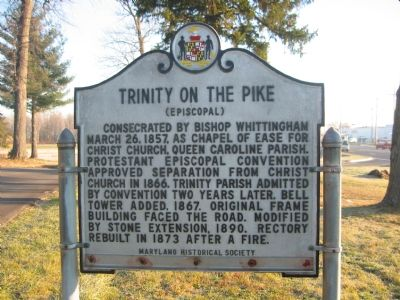 Trinity on the Pike Marker image. Click for full size.