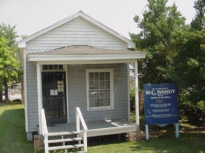 The Memphis Home of W.C. Handy image. Click for full size.