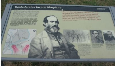 Confederates Invade Maryland Marker image. Click for full size.