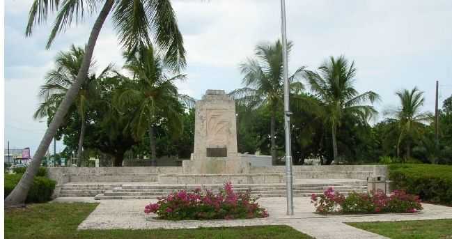 The Florida Keys Memorial Marker image. Click for full size.