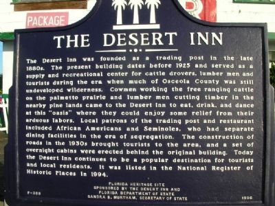 Desert Inn Marker image. Click for full size.