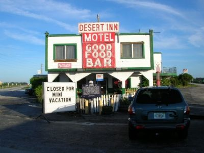 Desert Inn and Marker image. Click for full size.