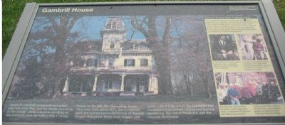 Gambrill House Marker image. Click for full size.