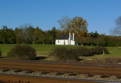 """Fairfield"" from across the railroad tracks. image. Click for full size."