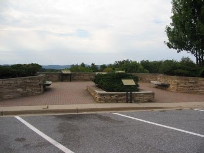 Markers at the Rest Stop / Overlook image. Click for full size.