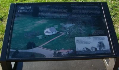 Fairfield Plantation Marker image. Click for full size.