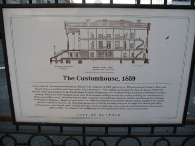 The Customhouse Marker image. Click for full size.