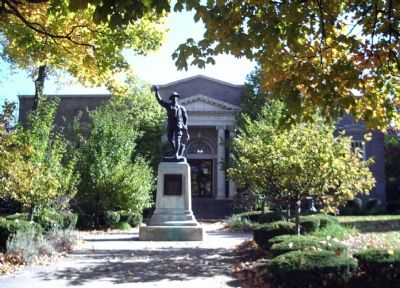 Carnegie Library at Attica, Indiana image. Click for full size.